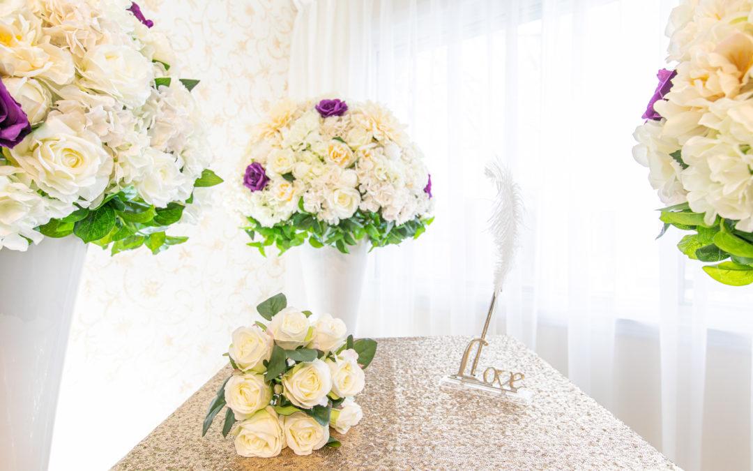 Le lieu de la cérémonie pour célébrer un mariage civil