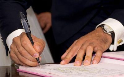 Le contrat de mariage ou contrat d'union civile notarié